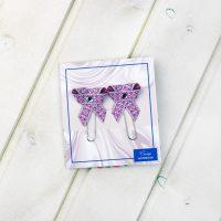 Бабочки розовые